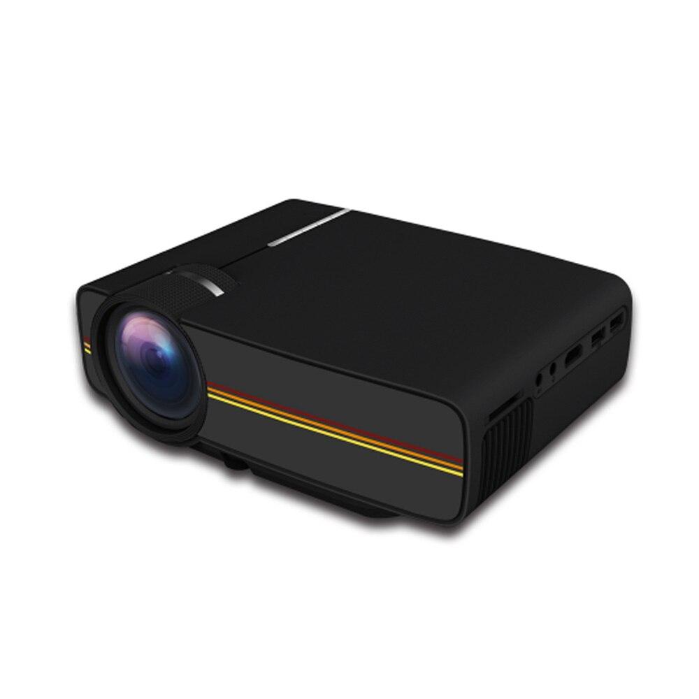YG400 мини Портативный светодиодный проектор 1000 люмен 800*480 точек/дюйм ЖК-дисплей HomeTheater проектор Поддержка 1080P проектор HDM VGA USB проектор