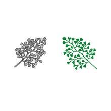Jcarter Metal Cutting Dies Cut Die Large Heart Love Leaves Scrapbooking Paper Card Knife Mould Blade Punch Craft Stencils