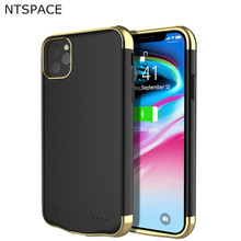 NTSPACE Battery Case For iPhone 11 Pro Max Charger Ultra Silm Power Bank Pack Shockproof Cover