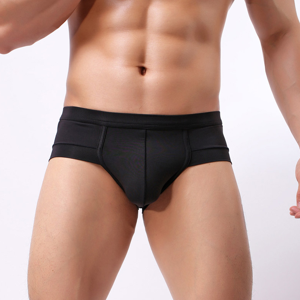 Fashion Men Underpants Knickers Sexy Mens Boxer Shorts Underwear Pant Boxers Soft Ployester Comfortable Breathable Homme