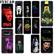 IYICAO Drake Rapper Soft Silicone Case for Samsung Galaxy S10 S9 S8 Plus S10e S6 S7 Edge Phone Case(China)
