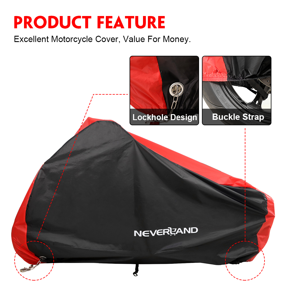 Image 3 - Motorcycle Cover All Season Waterproof Dustproof UV Protective 