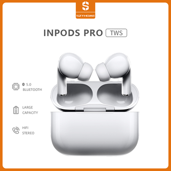 SZYHOME Bluetooth Earphone HiFi TWS 3D Stereo In-Ear Sports Handsfree Wireless Earbuds With Charging Box for Music Android