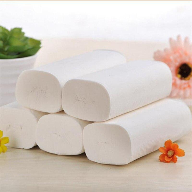 12 Rolls Toilet Paper Enviro Friendly Toilet Kitchen Rolls Tissue Premium Paper Hand Towel Roll Tissue Napkin White Paper Towels