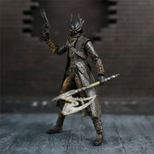 "Image 5 - Game Bloodborne Hunter 6"" Action Figure 1/12 15cm Figures KOs FGM 367 MF Masaki APSY Doll Toys Model Figurine"