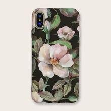 Жесткий чехол с водной наклейкой цветочная фотография для iphone6