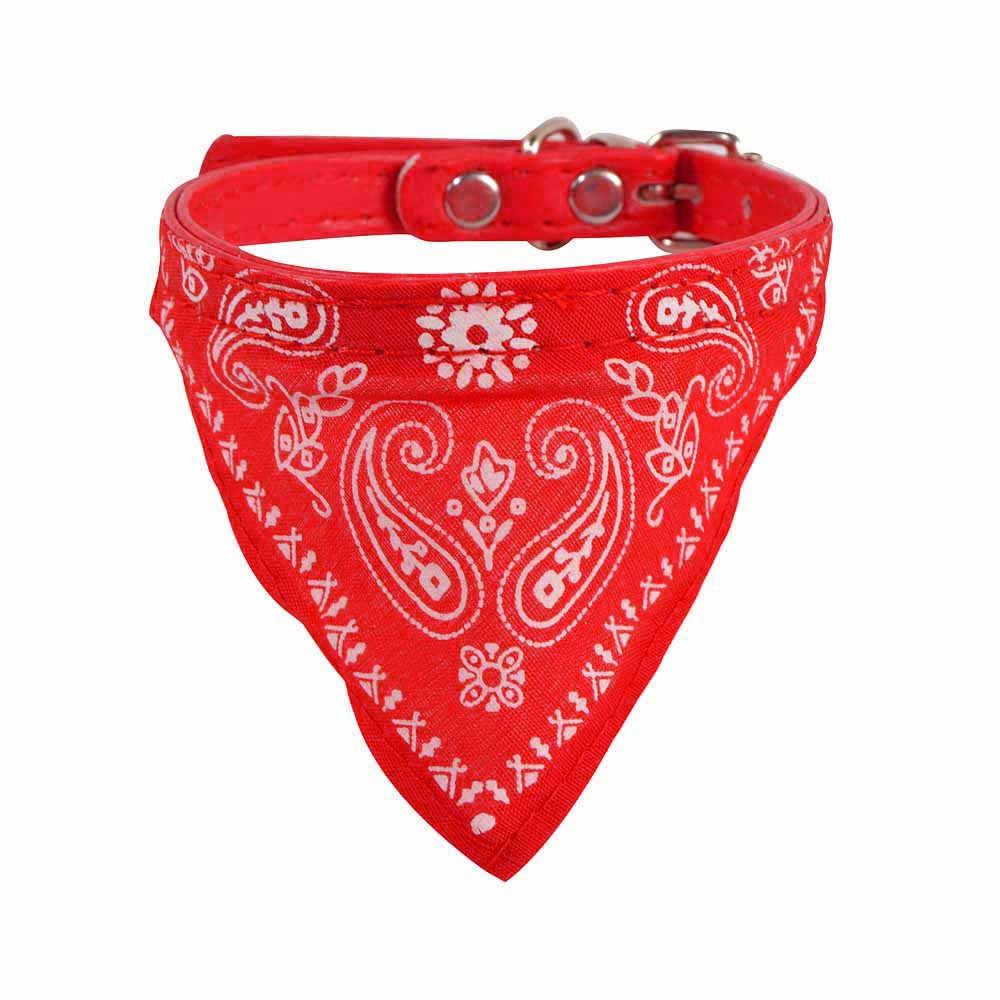 アジャスタブルペット犬子犬猫ネックスカーフバンダナ首輪ネッカチーフ猫キティ首の装飾ドレスを出荷販売 # ZH