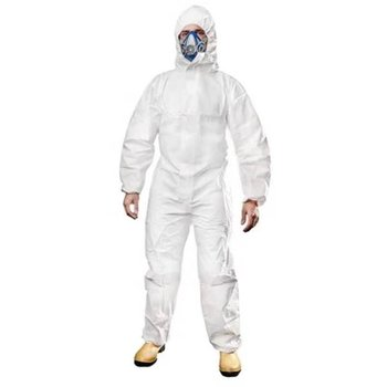 1422a dupont tyvek protective clothing coverall disposable antistatic non linting chemical work clothes anti dust splash Protective Clothing Women Men Overalls Isolation Suit Set Disposable Antistatic Workwear Dust Anti-virus virus protection