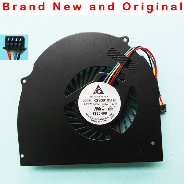 New original CPU Cooling Fan cooler For Dell Latitude E6540 fan KSB06105HB CJ1H