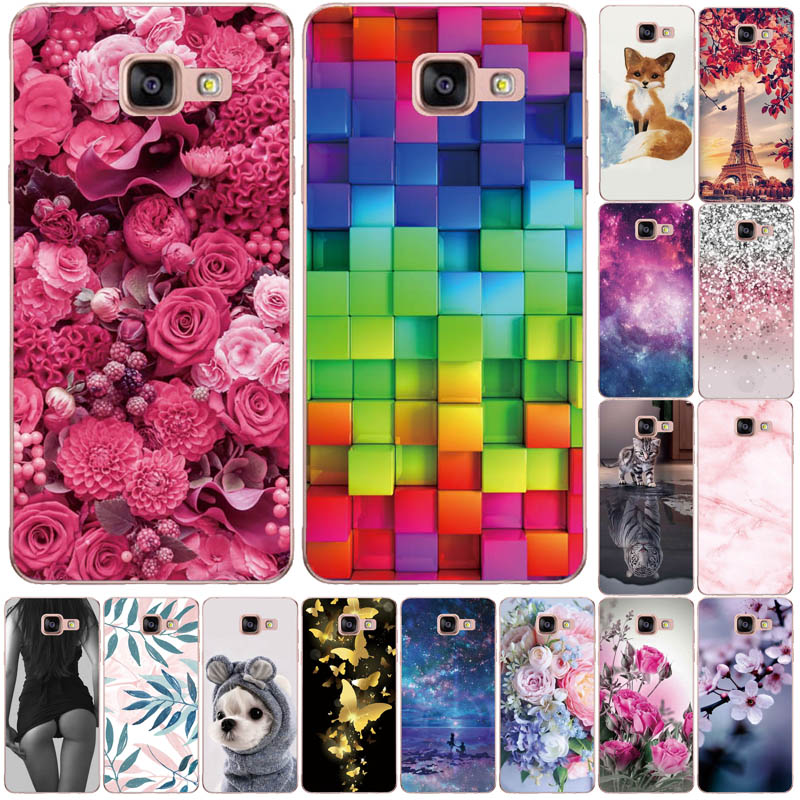 Silicone Case For Samsung Galaxy A5 2017 2016 A520 A510 F Case 5.2 Phone case For Fundas Samsung A 5 2017 2016 520 510 Coqu