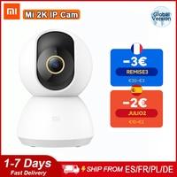 Xiaomi-cámara IP inteligente Mi, 2K, HD, 1296P, 1080P, videovigilancia, WiFi, ángulo de 360 grados, visión nocturna IR, Monitor de bebé para el hogar