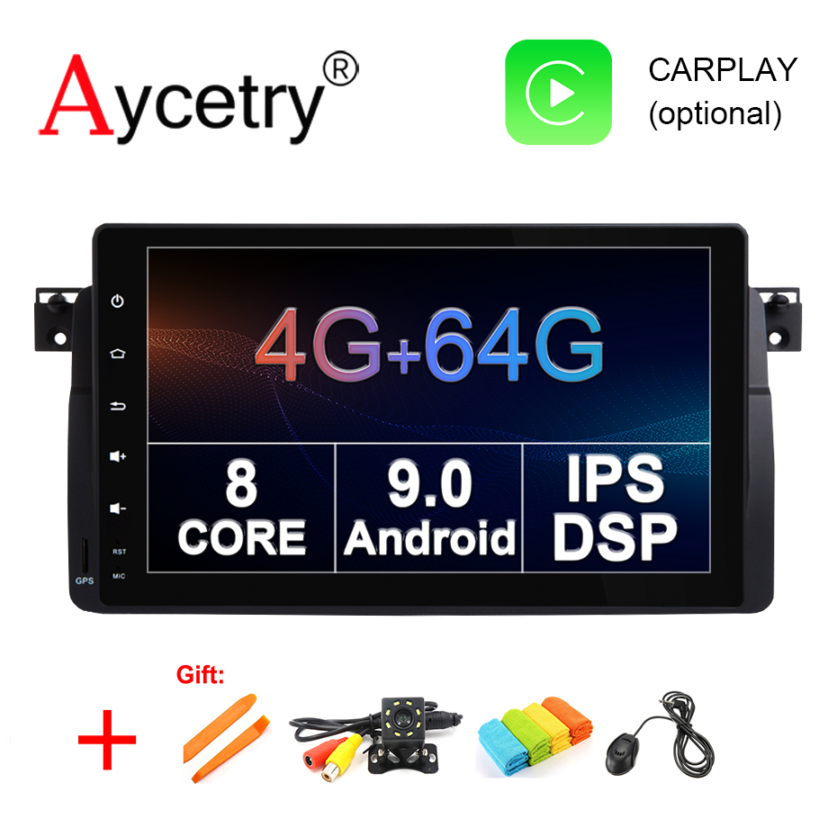 9 IPS DSP 8 core 4G 64G Android 9 0 Car radio pc GPS Navigation autoradio
