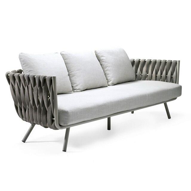Luxury Rope Garden Sofa Set  4