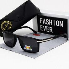 Gafas de sol polarizadas UV400 para hombre, accesorios de conducción para hombre, rectangulares más pequeños, 2020