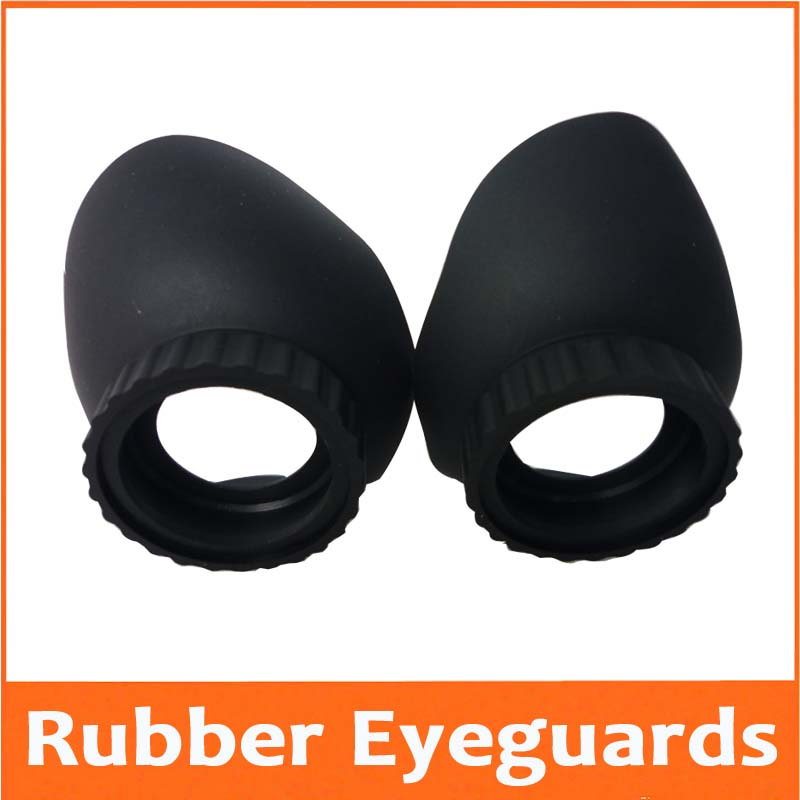 45.5mm Rubber Eyeguards Eye Guards Eye Shield Cups Eyeshild Eyeprotection For Biological Stereo Microscope Telescope Monocular