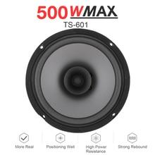 1pcs 6 Inch 500W Car HiFi Coaxial Speaker Vehicle Door Auto