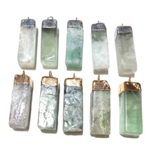 Wholesale Natural Stone Hot Selling Trendy Pendants Necklace Pendant for Jewelry Making DIY 40x12mm