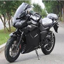 Газовые скутеры двойной дисковый тормоз CNC тормозной насос гидравлический Шок Электрический спортивный автомобиль электрический мотоцикл 2000W16 дюймов мотор
