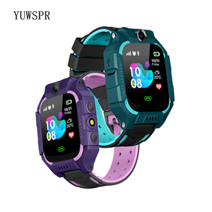 """Image 3 - Tracker Children Smart Watches Waterproof LBS Positioning 1.44"""" Touch Screen Camera Fashlight IOS Android Kids Smart Clock Q19"""