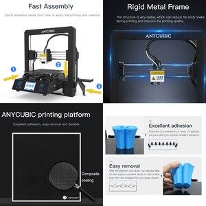 Image 4 - Anycúbico mega s impressora 3d i3 mega atualização kit de impressora 3d de metal completo tft tela sensível ao toque alta precisão tpu impressora impressora impressora impressora impressora 3d