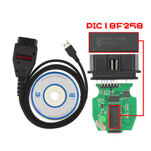 Beyisi VAG K + CAN Commander 1,4 с FTDI FT232RL PIC18F258 чип OBD2 Диагностический интерфейсный кабель для VW/AUDI/SKODA/SEAT