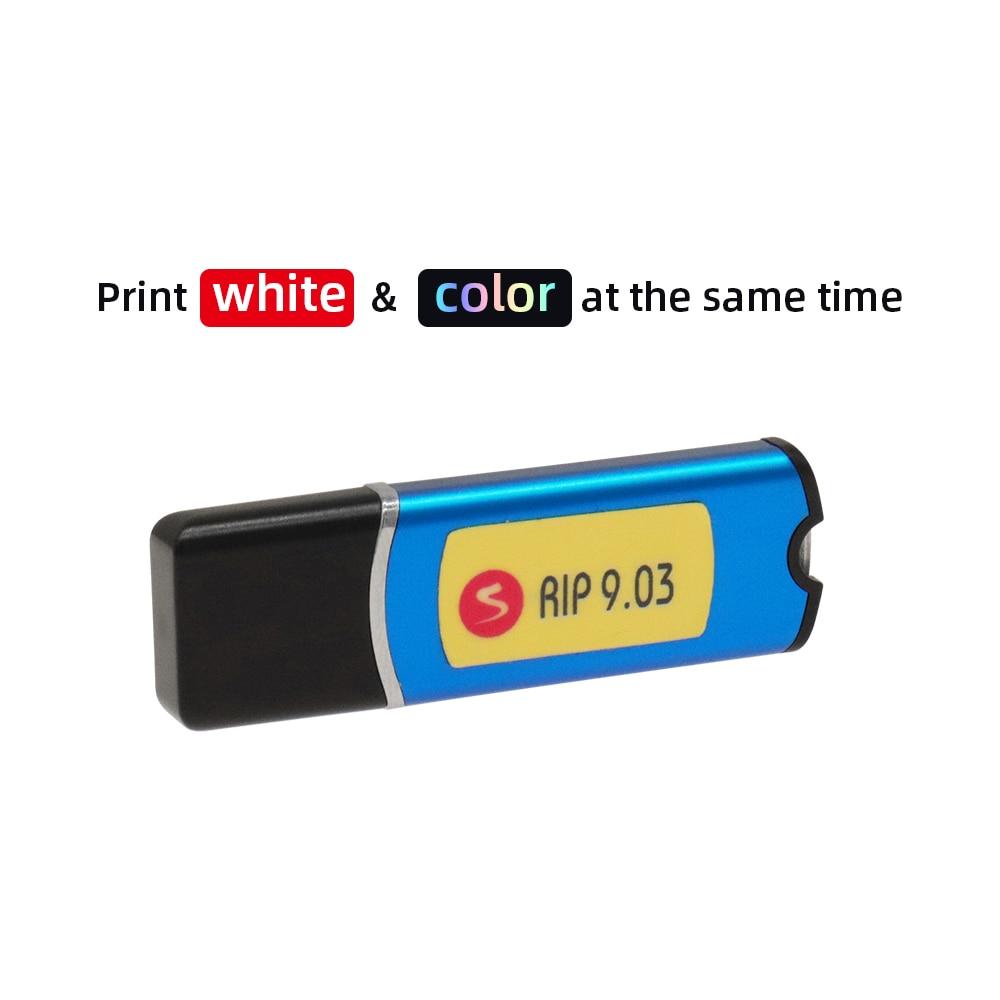 УФ Планшетный Принтер DTG, запчасти для принтера DTF, AcroRIP 9,0 RIP программное обеспечение с ключом замка для Epson L805 L800 R1390 L1800