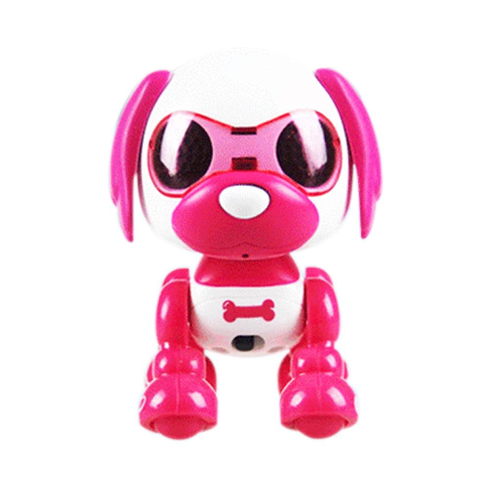 LED Eyes Toy Interactive Sleep Cute Children Intelligent Robotic Puppy Sound Change Recording Dog