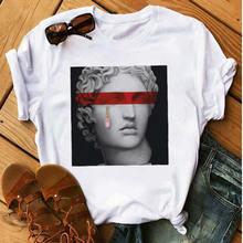 Женский топ в стиле Харадзюку футболка с принтом медузы Повседневная