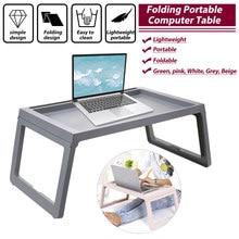 Mesa dobrável portátil portátil portátil portátil lapdesk computador notebook multi-função mesa escritório pequeno-almoço cama bandeja servindo mesa