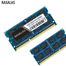 RASALAS 1.5V 1.35 RAM bellek DDR3 DDR3L 8G 4G 2G dizüstü 8500s 10600s 12800s 1066 1333 1600MHz SODIMM 204PIN Notebook Memoria RAM