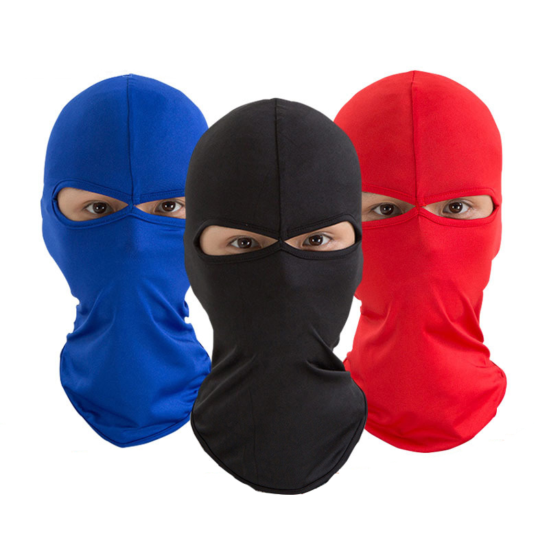 Lycra Motorcycle Balaclava Full Face Mask Windproof Military Helmet Liner Hood Ski Tactical Snowboard Sport Cycling Mask Face