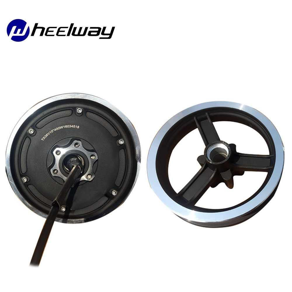 10 Inci 36V 48V Ly Motor Electric Scooter Kit Konversi Texas Motor Electric Scooter Kit Motor Roda Roda dan Roda Depan Kart