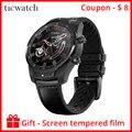 Originele Ticwatch Pro Bluetooth Smart Horloge IP68 Waterdicht ondersteuning NFC Betalingen/Google Assistent Dragen OS door Google GPS Horloge