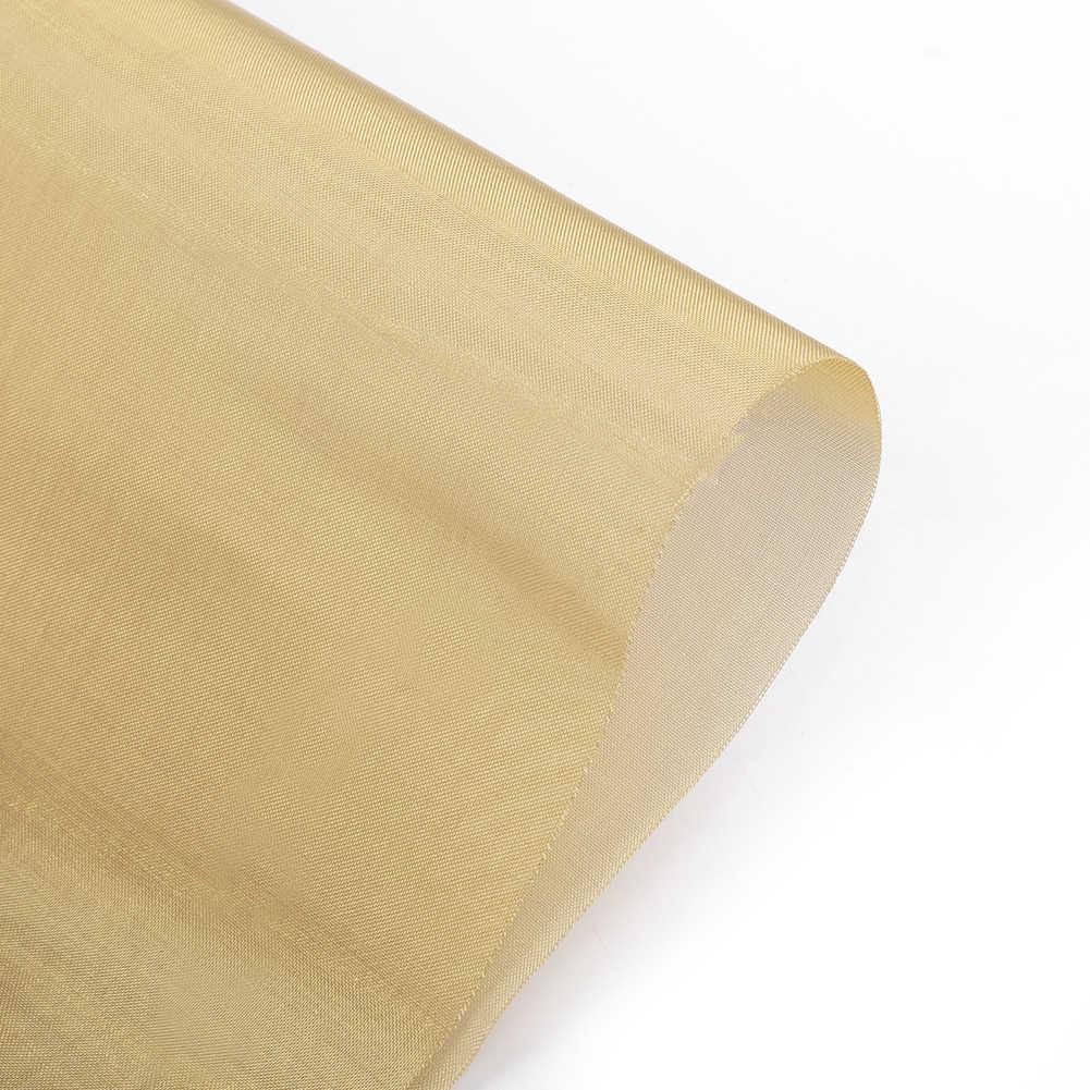 ヘビーデューティ真鍮メッシュ金網フィルターオイル 100 穴A4 シート 210 × 300 ミリメートル 0.1 ミリメートル厚さ軽量新着ツール部品