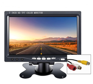 Image 2 - Kleine 7 Inch Auto Monitor Pc Mini Tft Led Lcd Hd Draagbare Screen Display 800X480 Voor Auto Reverse achteruitrijcamera Cctv Monitor