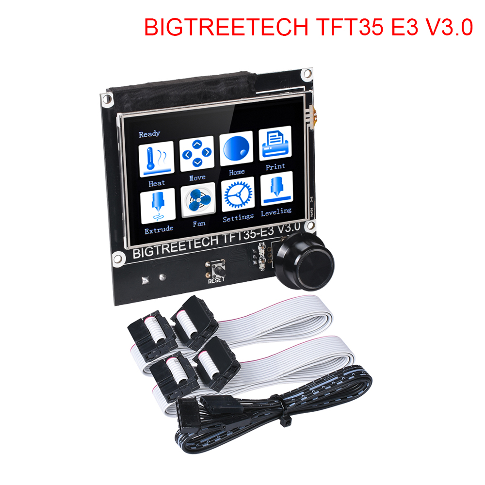 BIGTREETECH TFT35 E3 V3.0 Touch Screen Support WIFI Module SD Card USB Printing 12864 LCD Display For SKR V1.3 Ender3 3d Printer