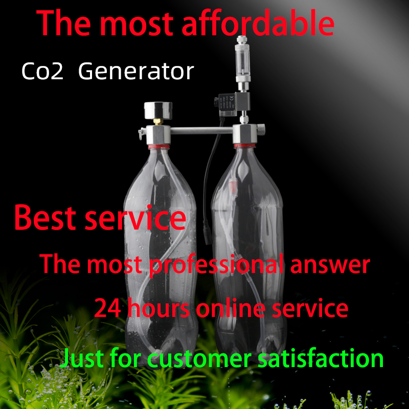 Aquarium CO2 Regulator System Kit Co2 Diffuser Generator With Valve Bubble Atomizer Solenoid Fish Tank Carbon Dioxide For Plants
