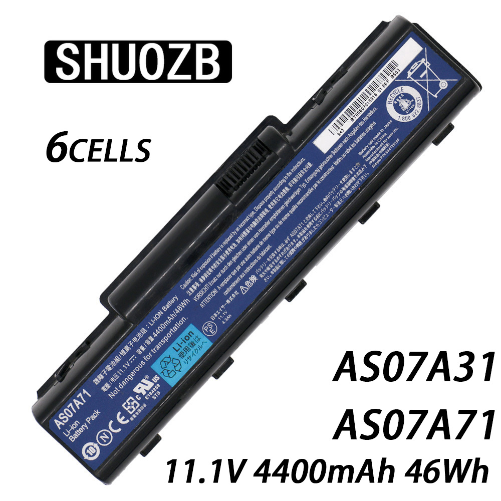 AS07A71 AS07A31 Laptop Battery For Acer Aspire 2930G 4740G 5738G 4930 5735 5740 AS07A32 AS07A41 AS07A42 AS07A51 AS07A52 AS07A72