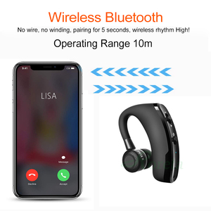 Image 4 - Roreta V9 Wireless Bluetooth Earphone Noise Control Business Wireless Bluetooth Headset With Mic Sports Earbuds Gaming Headset