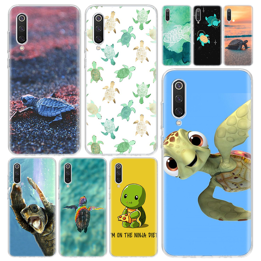 Turtle Tortoise Phone Case Cover For Xiaomi Redmi Note 9S 8 8T 9 7 7A 6 6A 5 5A 4X S2 K20 K30 MI 9 8 Lite CC9 F1 Pro Coque