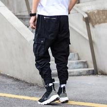 Fashion Streetwear Men Jogger Pants Loose Fit Camouflage Military Harem Trousers Big Pocket Cargo Hombre Hip Hop