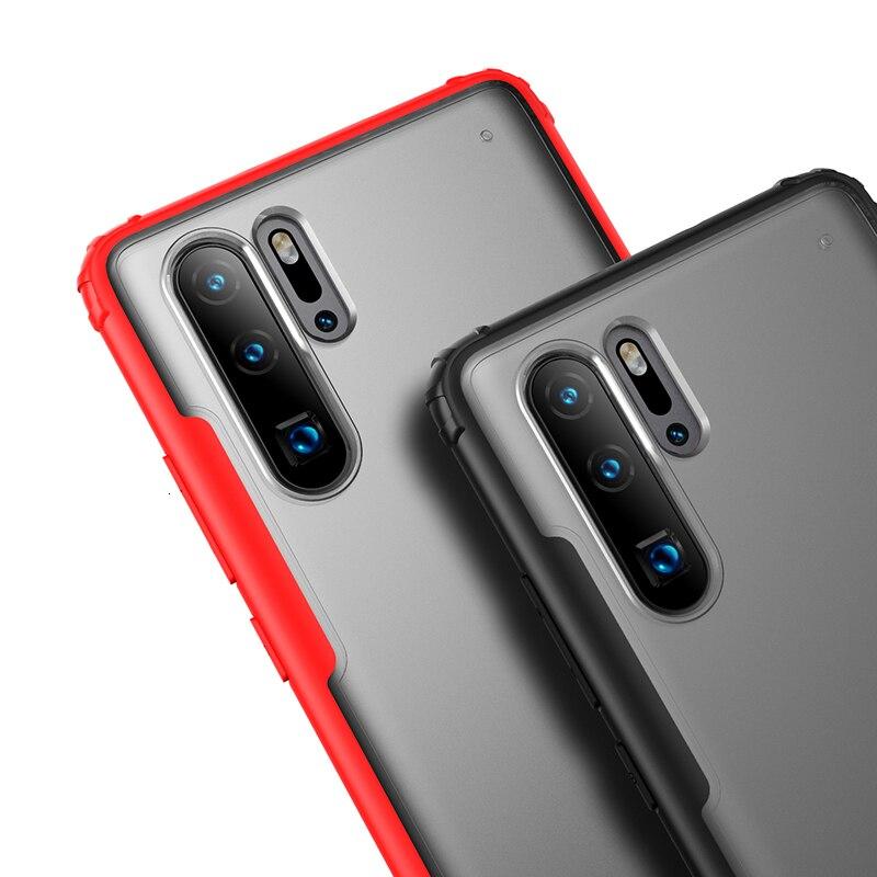 Zachte TPU Shockproof Case Voor Huawei P30 Pro P30 Lite Beschermhoes Voor Huawei p30 Lite volledige beschermhoes