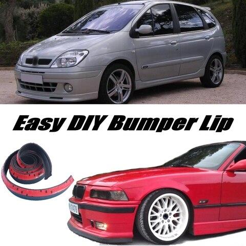 para choques labio defletor labios para renault scenic spoiler dianteiro saia para carro tuning view