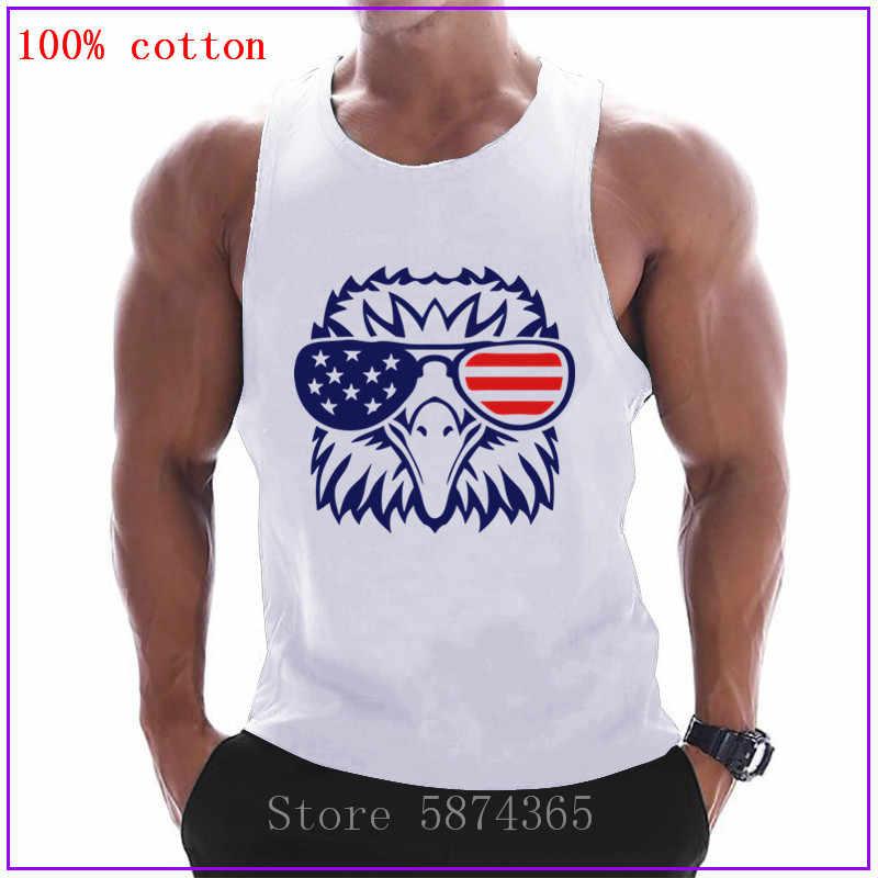 Fitness Bodybuilding Gym Sun Gym Herren T-Shirt Blau