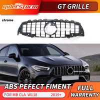 For 2020 Mercedes New CLA Class AMG GT Grill W118 C118 Auto Front car mesh grile 2019 2020 New CLA Class CLA220 racing grill