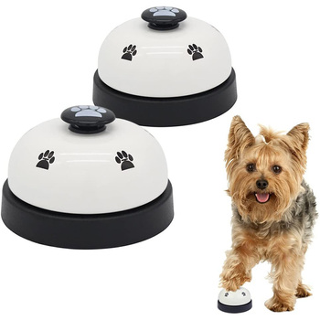 Pet Training Bells Dog Cat Training Eating Communication Press Call Bell Puppy Toilet Potty Training Interactive Toy