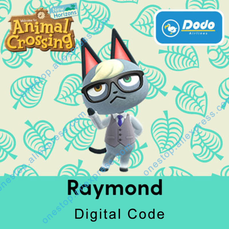 Raymond/Judy/Audie/Ankha Animal Crossing New Horizons Online recharge service Does not support refunds !Not <font><b>Amiibo</b></font> <font><b>Card</b></font> image