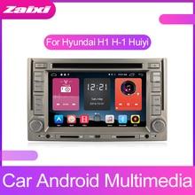 цена на ZaiXi Android Car Multimedia player 2 Din WIFI GPS Navigation Autoradio For Hyundai H1 H-1 Huiyi 2007~2015 GPS Radio FM Maps BT