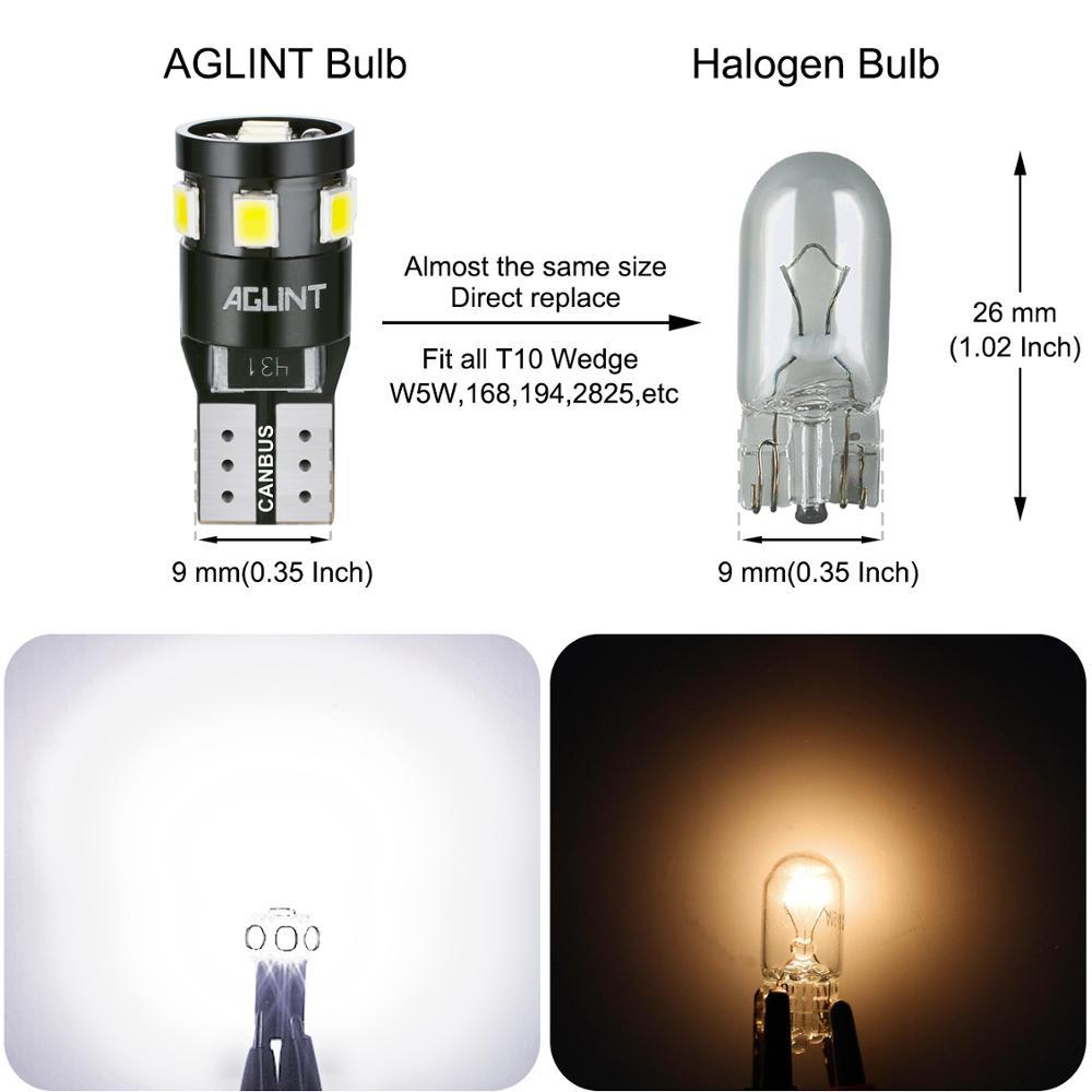 Fits Fiat Grande Punto Canbus Error Free 9W LED Sidelight Parking Bulbs Lighting
