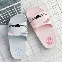 Baby Toddler Boys Girls Home Slippers Sandals 1-5 Years Old Kids Cartoon Cat Floor Casual Shoes Sandals
